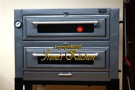 Oven Komersial irene s kitchen peralatan bakingku oven