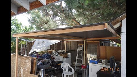 put  simple shed perfect patio roof cover