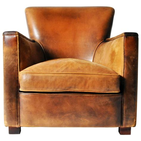 distressed leather recliners petite distressed leather club chair at 1stdibs