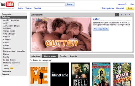 Google Youtube Peliculas | youtube ofrecer 237 a pel 237 culas en alquiler blogerin
