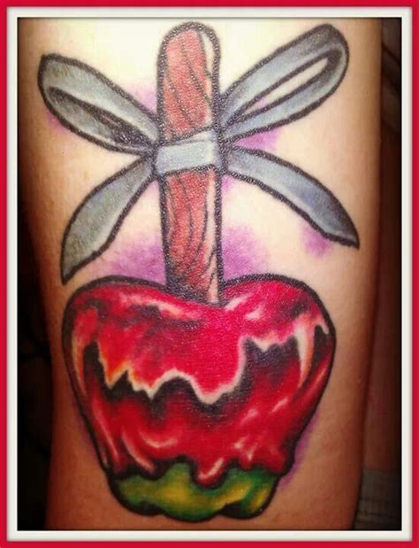 candy apple tattoo apple tattoos apple apple