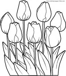 tulip coloring pages coloring pages for tulip coloring pages for