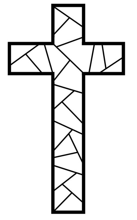 cross coloring pages for kids az coloring pages