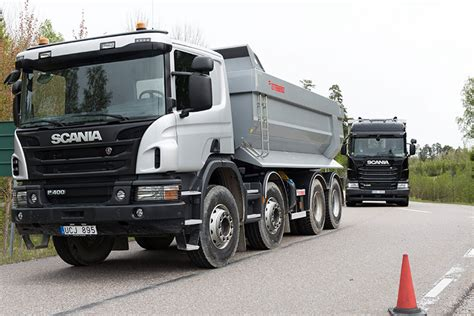 scania trucks scania plans autonomous work truck test trucks