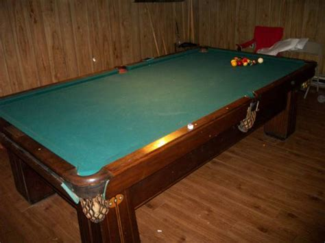 the brunswick balke collender pool for sale