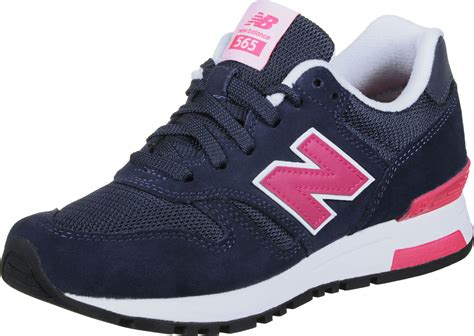 new balance wl565 w shoes blue pink
