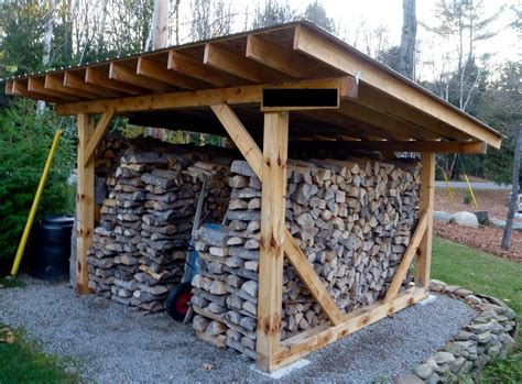 building  wood shed organized build