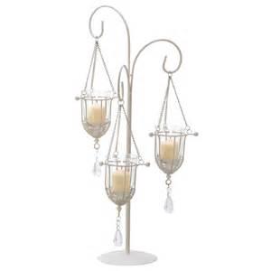 Table Top Chandelier Candle Holder Crystal Drop Votive Candle Holder Wedding Centerpiece