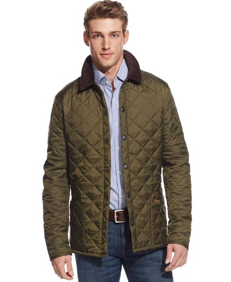 Barbour Quilted Jacket by Barbour S Heritage Liddesdale Jacket In Green For