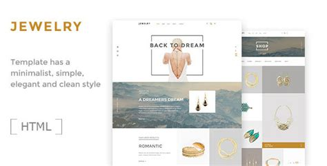Jewelry Ecommerce Html5 Template Download Nulled Themes Ecommerce Requirements Document Template