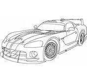Dodge Viper Coloring Pages  Only