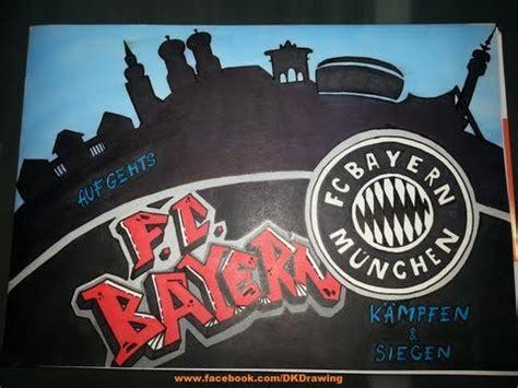 fc bayern muenchen graffiti fc bayern munich youtube