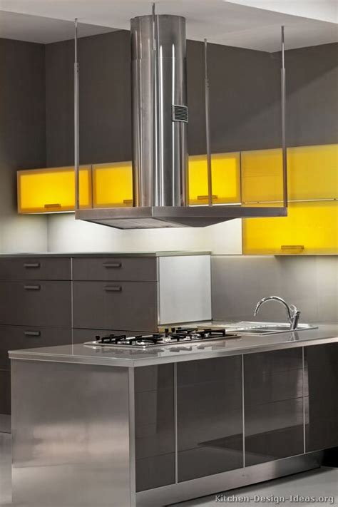 yellow modern kitchen contemporary kitchen cabinets pictures and design ideas