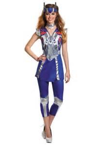 womens transformers 4 optimus prime costume halloween