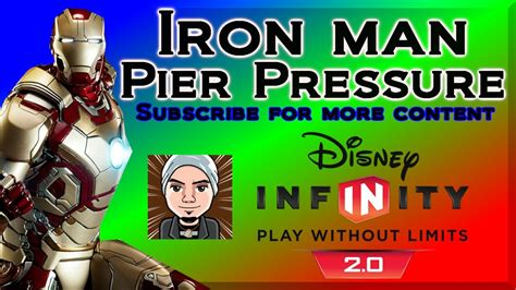 disney infinity iron man pier pressure iron man mark