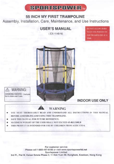 sportspower swing set manual 55 quot sportspower model ex 1146 n combo manual