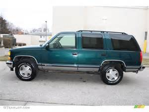 emerald green metallic 1997 chevrolet tahoe ls 4x4