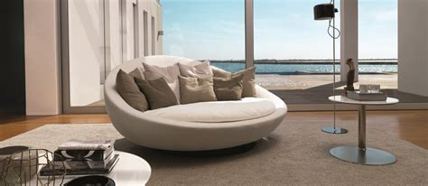 Beautiful Home Decorating by Style Roundup Decorating With Round Sofas And Couches