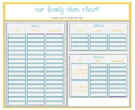monthly chore calendar template 7 best images of family chore chart home family weekly
