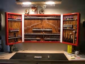 Wrench Storage Garage Journal Tool Cabinet The Garage Journal Board Workshop