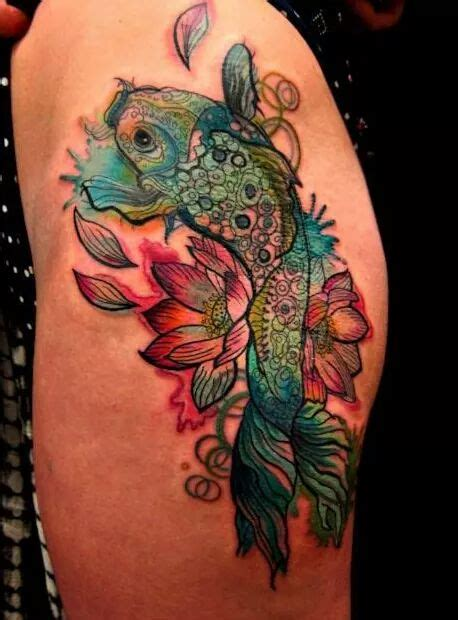 brightside tattoo 33 adorably sweet fish tattoos ideas that would make you