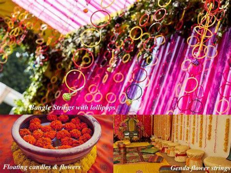 colour themes for mehndi diy decor ideas for your mehendi three cheap chic