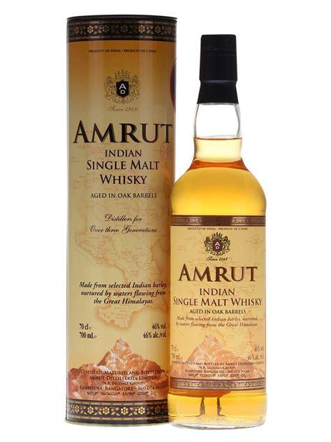 Amrut Indian Single Malt   70cl 46%