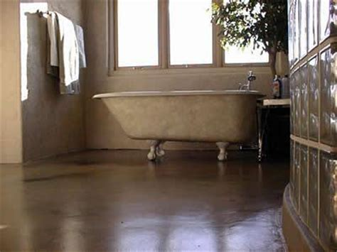 stained concrete bathroom floor axid stained concrete flooring