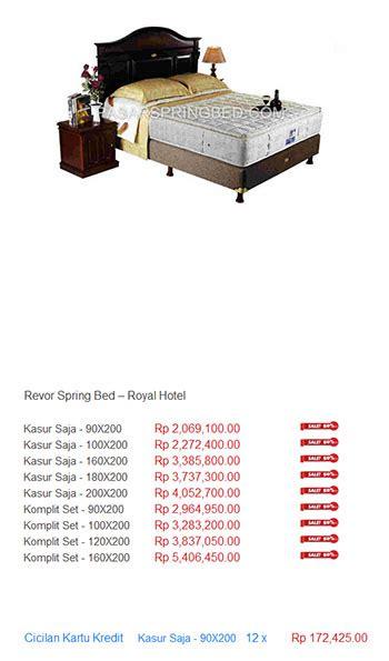 revor murah harga bed termurah di indonesia