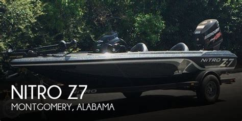 nitro bass boat dealers in alabama sold nitro z7 boat in montgomery al 117606