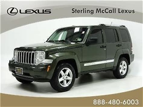 purchase used 2008 jeep liberty rwd 4dr limited passenger airbag fog lights security system in
