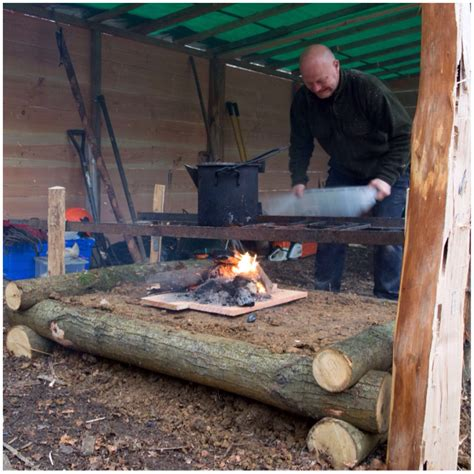 Bush S Fireplace by How To Build A Raised Firepit Bushcraft Days