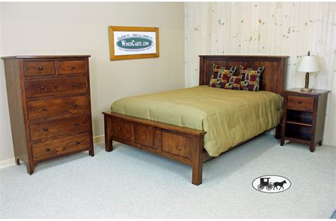 Handmade Furniture New York - amish adirondack real wood bedroom furniture new york