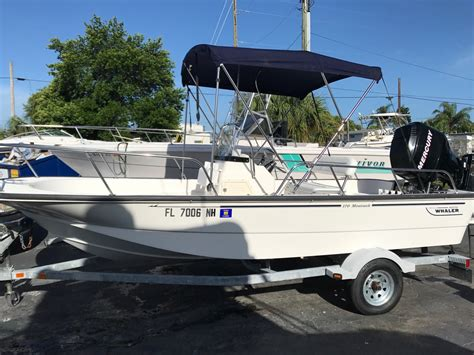 boston whaler outrage used boat sale boston whaler outrage 18 used boat review boats
