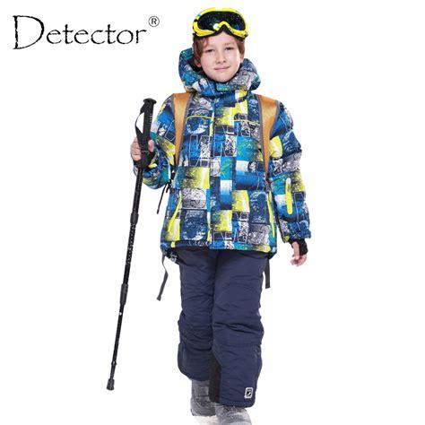 Koper Set Fashion Waterproof aliexpress buy detector 2016 boys ski sets waterproof windproof children clothing