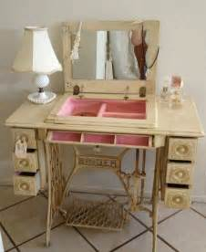 sewing machine with cabinet vintage sewing machine cabinet repurposed into a pretty