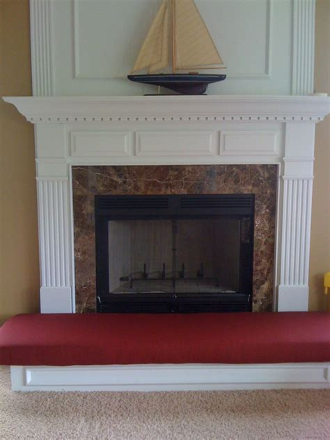 crafted fireplace hearth safety cushion by hearth and