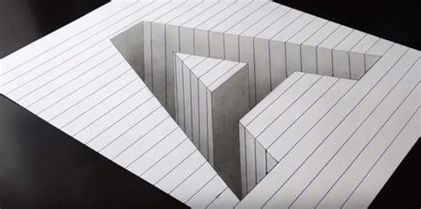 tutorial gambar 3d mudah contoh gambar 3 dimensi sederhana yang mudah di gambar