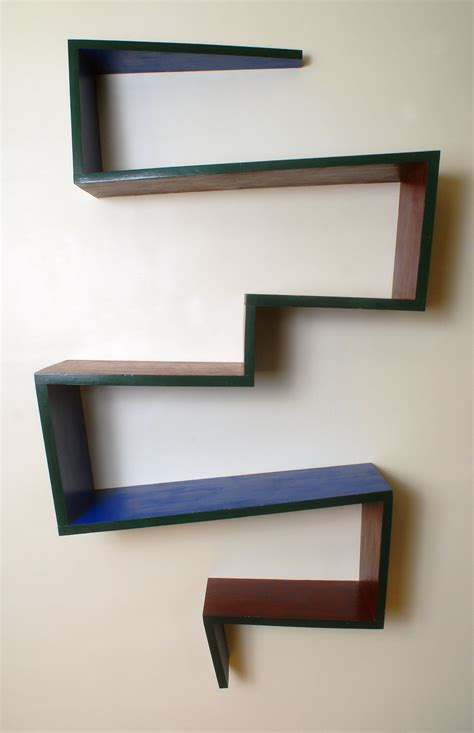Zig Zag Wall Shelf by Zig Zag Wall Shelf Uk Home Design Ideas