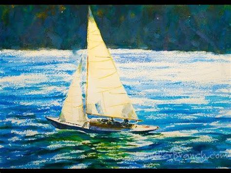 sailing boat watercolour watercolor painting tutorial sailboat youtube