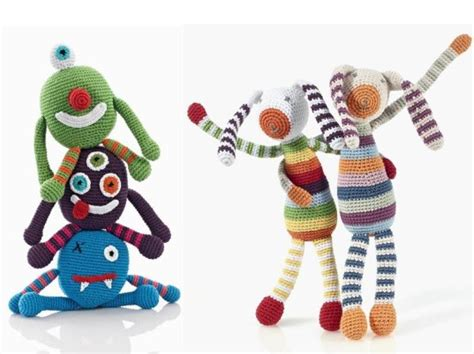 Great Blogs On Handmade Toys by Fair Trade Knit Pebble Toys Provide Work For