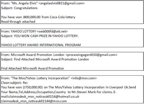 Divorce Letter Lottery Won Congratulations You Ve Won The Reality Lotteries Securelist