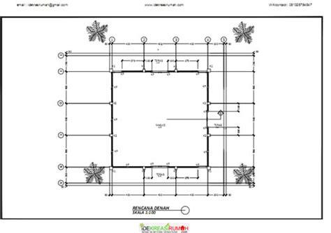 desain rumah  lantai  kamar tidur contoh