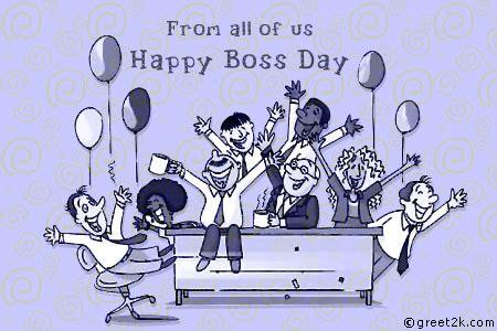 boss day lovely wishes  boss day ecards  boss day   funmunchcom