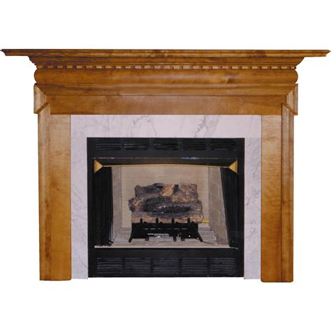 Wooden Fireplace Surround by Agee Woodworks Wood Fireplace Mantel Surround