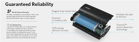 Anker Powercore Mini 3350 Mah Portable Charger Silver anker astro 6700mah ultra compact premium portable charger