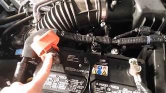 2010 honda crv battery starter harness removal youtube