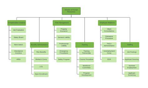 Organizational Chart Templates Lucidchart Organizational Chart With Responsibilities Template