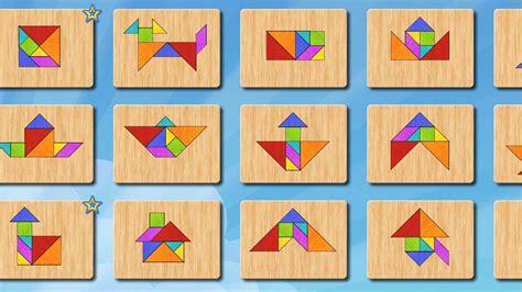 figuras geometricas juegos gratis tangram puzle aplicaciones de android en google play