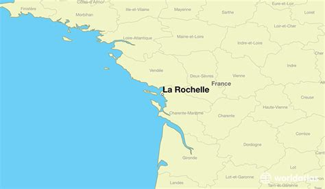 map of la rochelle where is la rochelle la rochelle poitou